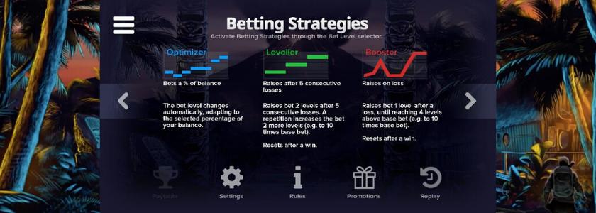 Tahiti Gold - Betting Strategies